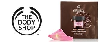 The Body Shop - British Rose Mélyhidratáló arcmaszk